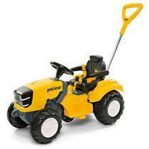 Carrinho De Passeio Ou Pedal Infantil Trator Politractor - Poliplac -
