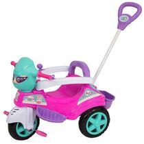 Carrinho De Passeio Ou Pedal Triciclo Baby City Menina - Maral -