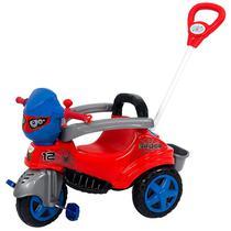 Carrinho De Passeio Ou Pedal Triciclo Baby City Spider - Maral -