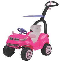 Carrinho de Passeio Pedal Biemme Push Car Easy Ride Rosa -