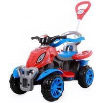 Carrinho De Passeio/Pedal Com Empurrador Quadriciclo Spider - Maral -