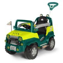 Carrinho De Passeio/Pedal Infantil C/ Empurrador - Diipi - Calesita -