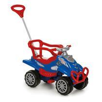 Carrinho De Passeio/Pedal Infantil Com Empurrador Bebê Cross Turbo - Calesita -