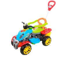 Carrinho De Passeio/Pedal Infantil Com Empurrador Criança - Colorido - Maral -
