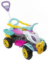Carrinho De Passeio/Pedal Infantil Com Empurrador Criança - Menina - Maral -