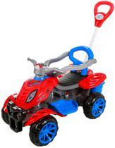 Carrinho De Passeio/Pedal Infantil Com Empurrador Criança - Spider - Maral -