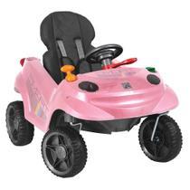 Carrinho De Passeio Smart Baby Comfort Rosa - Brinquedos Bandeirante