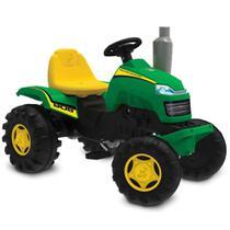 Carrinho de Passeio - Trator Country - Verde e Amarelo - Bandeirante -
