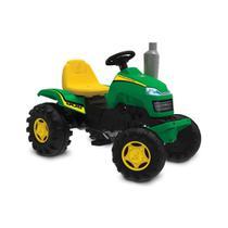 Carrinho de passeio trator infantil pedal country verde com buzina - Bandeirante