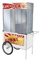 Carrinho de Pipoca Luxo com Rodas de Bicicleta - Cefaz -