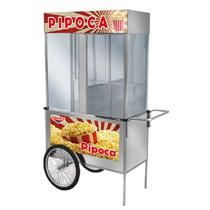 Carrinho De Pipoca Luxo Com Rodas De Bicicleta L21RB Cefaz -