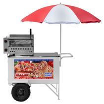 Carrinho De Pizza Cone Standard 2 Rodas Cpcl018 Armon -