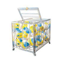 Carrinho de Transporte em Alumínio para Acessórios de Piscina FLOTY - CD -