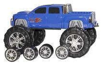 Carrinho Double Car 2x1 Que Troca De Pneus - Diver Toys -