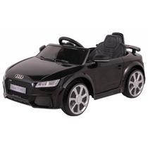 Carrinho Elétrico 12 Volts Audi Tt Preto P/ Crianças - Belfix -