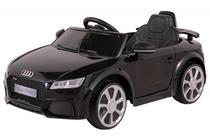 Carrinho Elétrico Infantil Audi TT Preto 12 Volts Com Controle Belfix -