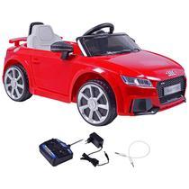 Carrinho Elétrico Infantil Audi TT Vermelho 12 Volts Com Controle Belfix -