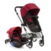 Carrinho Epic Lite com Bebê Conforto Infanti Vermelho -