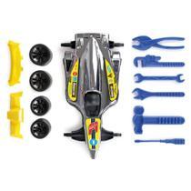 Carrinho F1 Com Kit Ferramentas Pit Stop - Mitro Xplast -