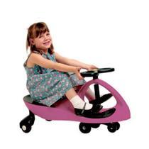 Carrinho Gira Gira Car Rosa Radical Até 100kg - Fênix - Fenix