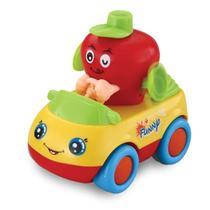 Carrinho Hora de Brincar Frutas Divertidas - Maça - Dican -