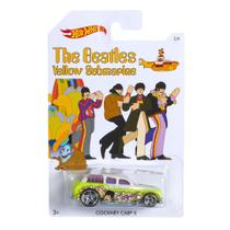Carrinho - Hot Wheels - Beatles - Cockney Cab - Mattel
