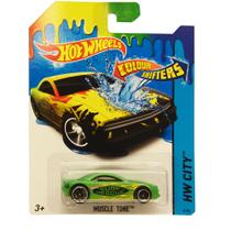 Carrinho Hot Wheels Color Change - Muscle Tone - Mattel