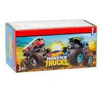 Carrinho Hot Wheels Monster Trucks Mini Surpresa - Mattel gpb72 -
