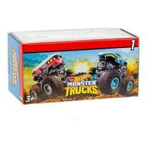 Carrinho Hot Wheels Monster Trucks Mini Surpresa - Mattel gpb72 -