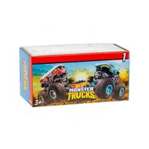 Carrinho Hot Wheels Monster Trucks Mini Surpresa - Mattel -