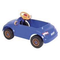 Carrinho Infantil À Pedal Att Azul 4042 Homeplay -