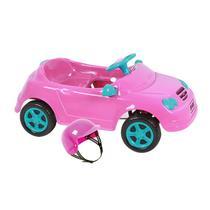 Carrinho Infantil À Pedal Mercedes Rosa 4130 Homeplay -