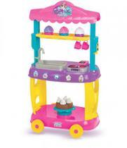 Carrinho Infantil Food Truck Cupcake Com Rodinha - Magic Toys
