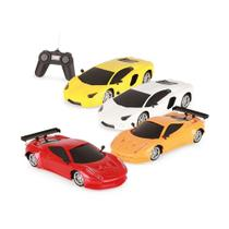 Carrinho Luxury Sports Car 1:18 Com Controle Remoto 6256 - Homeplay -