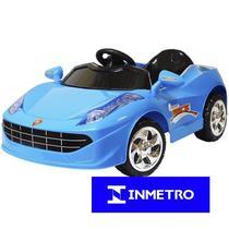 Carrinho Mini Carro Elétrico Infantil Criança Bw-005 Importway 6V Azul Verde Vermelho -