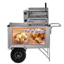 Carrinho Pão De Queijo Cefaz Com Forno Refratário e Infra Vermelho L39PT Cefaz -