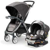 Carrinho para Bebê Chicco Bravo Trio Travel System 3 em 1 Meridian - Buybox