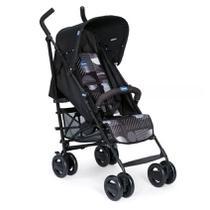 Carrinho Para Bebê London Up Matrix Preto 0 a 15kg - Chicco -