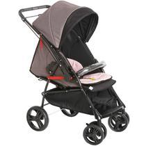 Carrinho Para Bebê Passeio 2 em 1 Nascimento Até 15Kg Reclinavel Maranello II Galzerano -