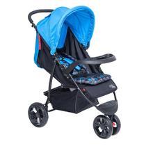 Carrinho Para Bebê Triciclo Urban Baby Style - Azul -