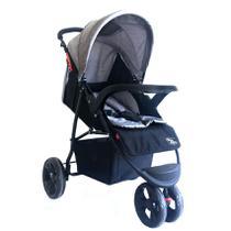 Carrinho para Bebê Triciclo Urban Cinza Baby Style -