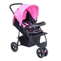 Carrinho para Bebê Triciclo Urban Rosa Baby Style -