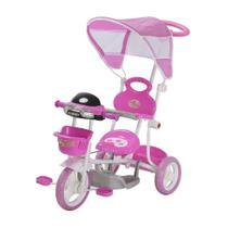 Carrinho Passeio Triciclo Infantil Com Empurrador Motoca 2 em 1 Importway -