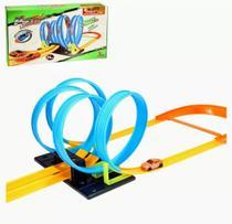 Carrinho Pista Corrida Looping 360º Tpo Hot Wheels Brinquedo - Artbrink