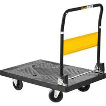 Carrinho Plataforma Para Transporte De Cargas Até 300kg - Vonder -