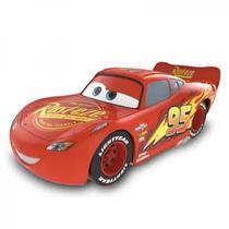 Carrinho Relampago Mc Queen Disney Car 3 Carros Roda Livre 13cm, Toyng -