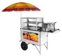 Carrinho Salgados Street Food Fritador Armon CSR034 -