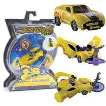Carrinho Screechers Wild Sparkbug Com 2 Discos 4718 - Dtc