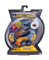 Carrinho - Screechers Wild - V-Wrex - 3 Discos - Dtc -