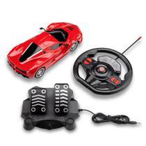 Carrinhos de Controle Remoto Racing Control Speed X Vermelho - BR1142 - Multilaser